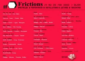 13 Novembre 1996 - Friction 2002